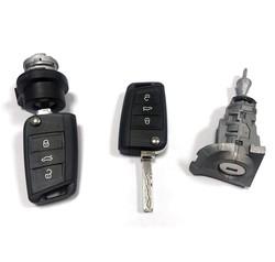 Volkswagen - Volkswagen MQB Lock Kit 434MHz HITAG AES
