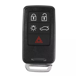 Volvo - Volvo 5 Buttons Smart Key Shell Cover