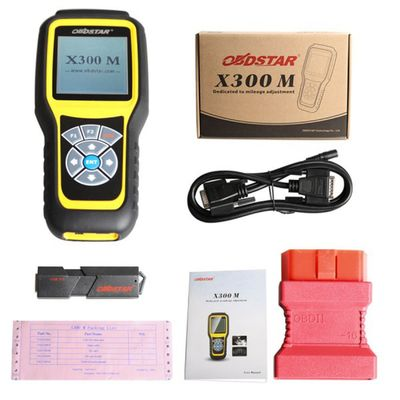 X300M Special for Odometer Adjustment and OBDII Support Mercedes Benz & MQB VAG KM Function