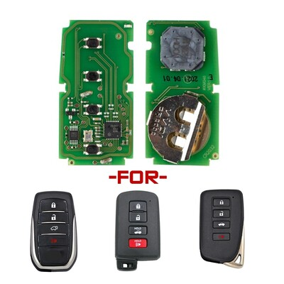 Xhorse Toyota Smart Key Model XSTO00GL - Thumbnail